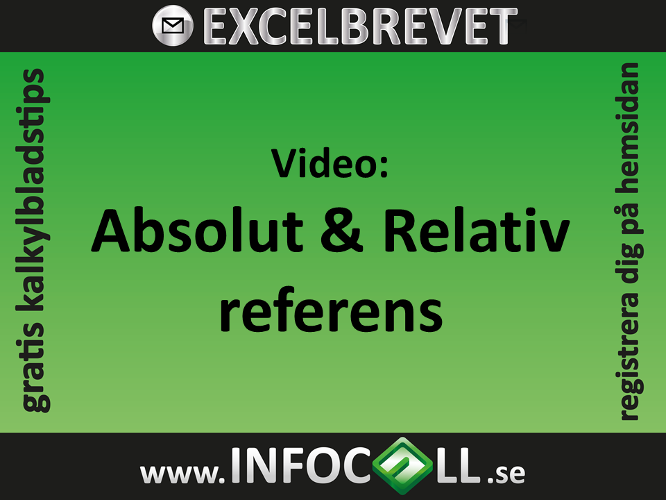 absolut relativ cellreferens