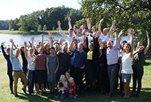 Sveriges unga akademi gruppbild