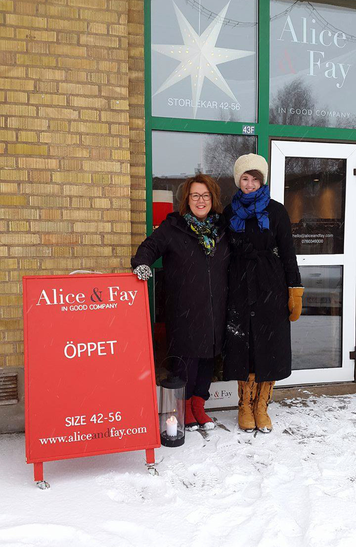 Cecilia och Fanny Alatalo, alias Alice och Fay