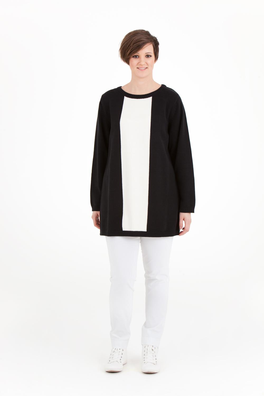 Klara tröja, NU 599:- (Ord. pris 799:-) Finns i svart/vit och marin/mullvad.