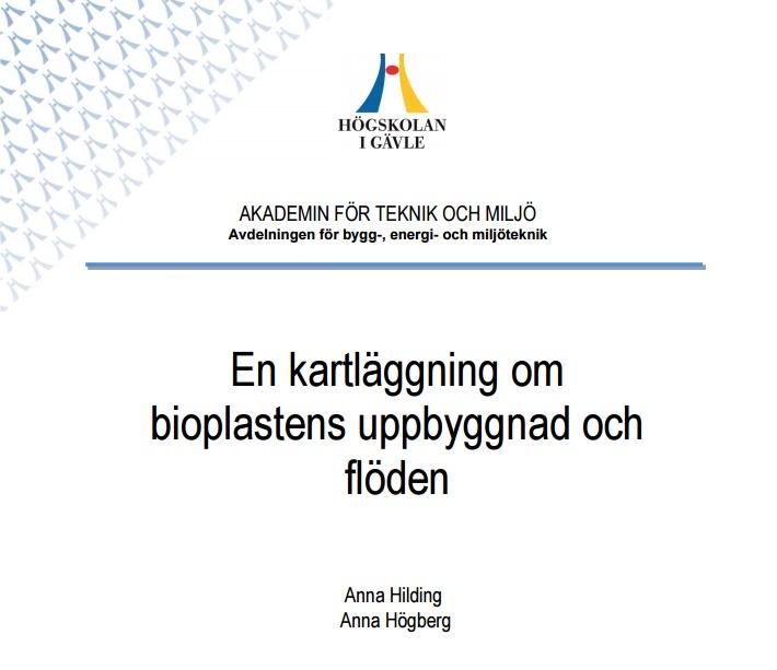Försättsblad bioplastrapport