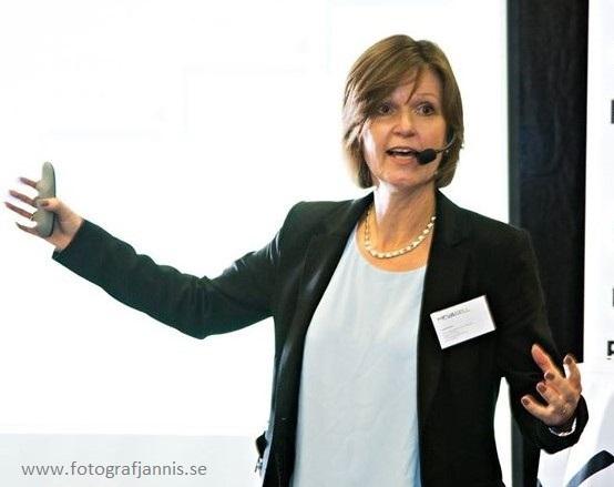 Ingrid Alestig  föreläser